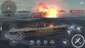 Game Perang Laut World Warship